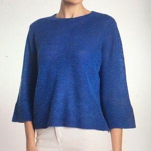 Eileen Fisher Organic Neptn Linen Blend Sweater 1X